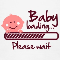 Baby-loading---please-wait-T-Shirts