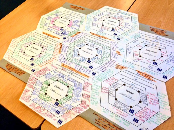 concentric hexagons