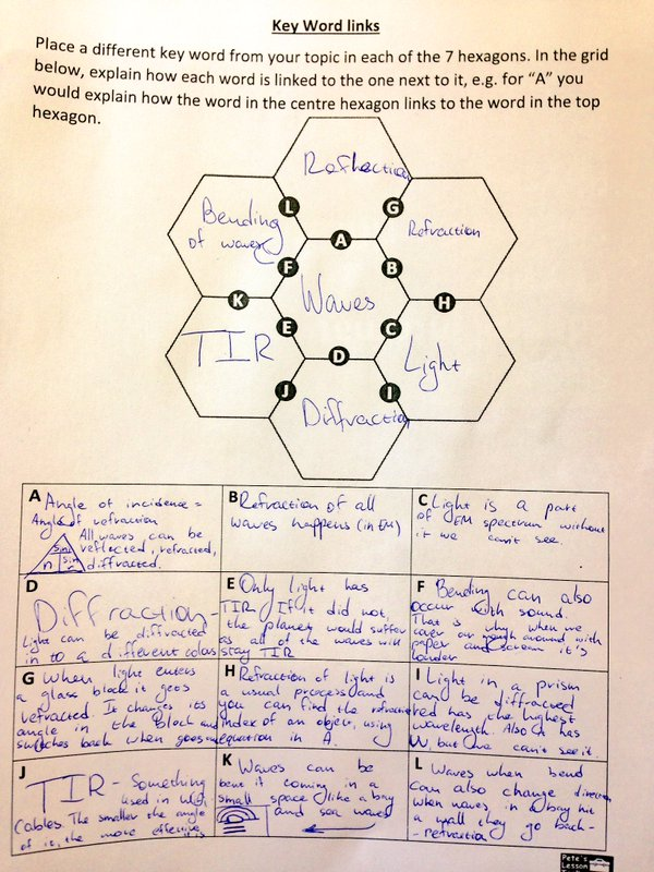 linking hexagons