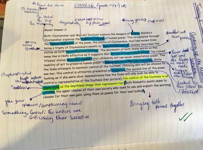 model paragraph